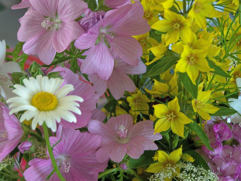 Flowers 1 by Gene Cyr