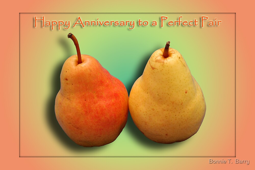 Happy Anniversary by Bonnie T.  Barry
