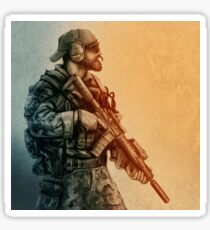 Ghost Recon Soldier Sticker