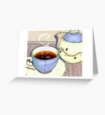 Tea For One Greeting Card