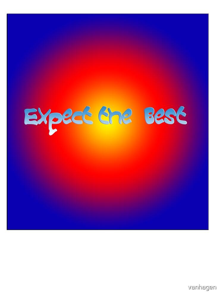 expect the best by vanhagen