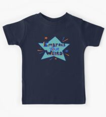 Felicia Day - Embrace Your Weird Apparel Kids Tee