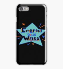 Felicia Day - Embrace Your Weird Apparel iPhone Case/Skin