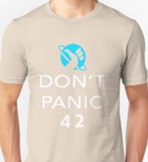 Don't Panic! Hitchhiker's Guide to the Galaxy T-Shirt