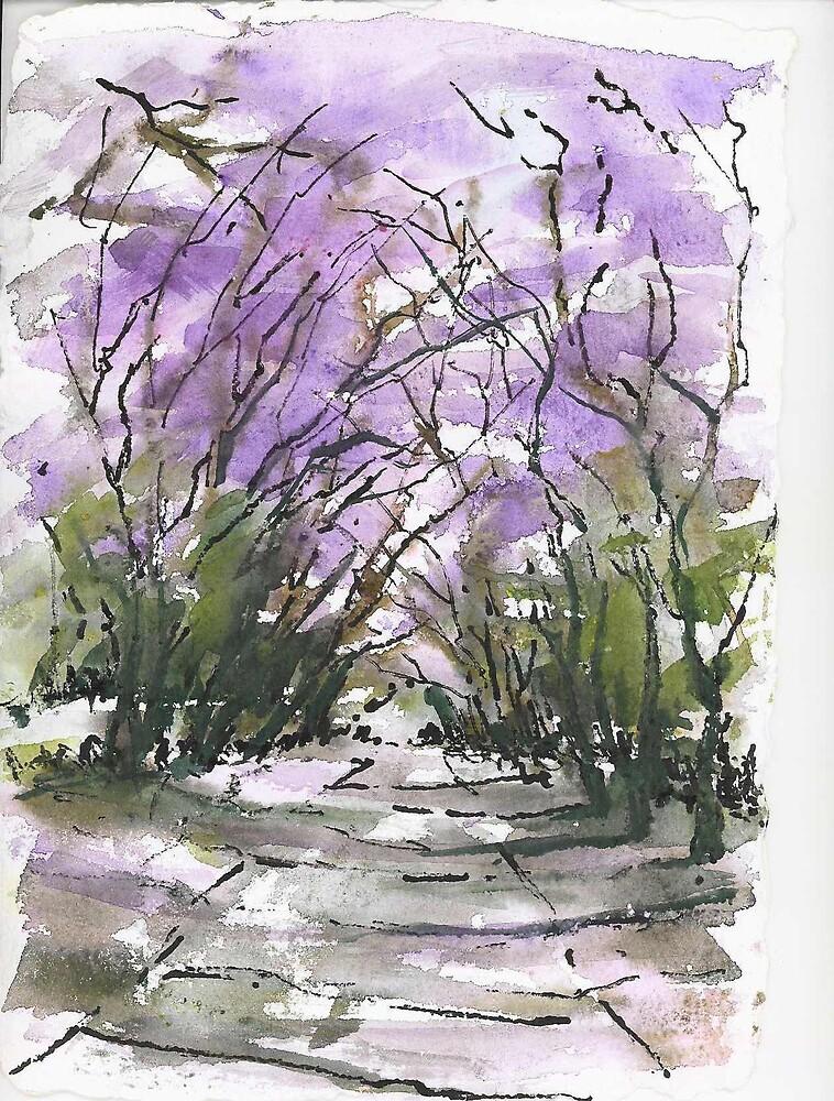 Purple Fantacy by elsa