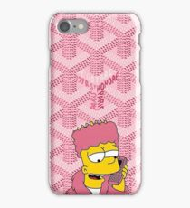 Killa bart X Goyard Pink Phone Case iPhone Case/Skin