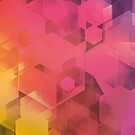 Hexagon Pattern by lizart-designs