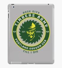 Rose City Till I Die iPad Case/Skin