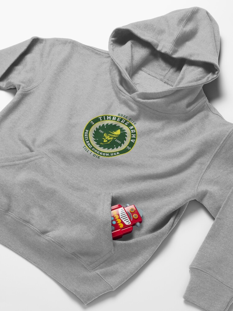 Vista alternativa de Sudadera con capucha para niños Rose City hasta que muera