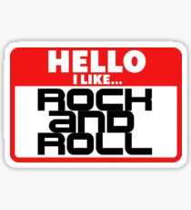 Rock Music Sticker