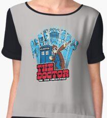 the doctor Women's Chiffon Top