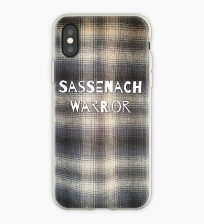 Sassenach Warrior iPhone Case