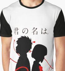 Your Name - Kimi no na wa - Taki and Mitsuha Graphic T-Shirt