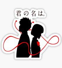 Your Name - Kimi no na wa - Taki and Mitsuha Sticker