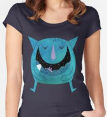 Swallowed By The Sea Women's Fitted Scoop T-Shirt