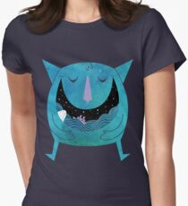 Swallowed By The Sea Women's Fitted T-Shirt
