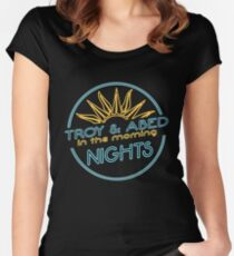 Nights!!!!!! Women's Fitted Scoop T-Shirt