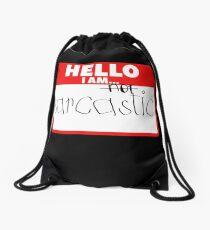 Sarcastic Drawstring Bag