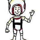 H Astronaut by Megatrip