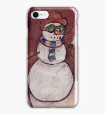 Steampunk Snowman iPhone Case/Skin