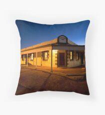 Birdsville Hotel Throw Pillow
