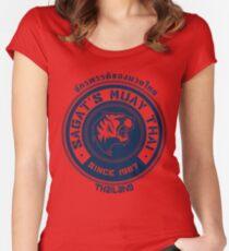 Sagat's Muay Thai Women's Fitted Scoop T-Shirt