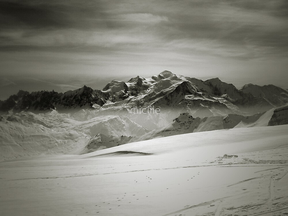 Mont Blanc by miclile