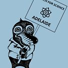 March for Science Adelaide – Platypus, black by sciencemarchau