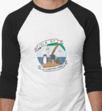 Isle of Flightless Birds Men's Baseball ¾ T-Shirt