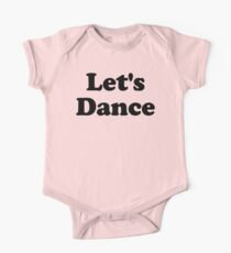 Let's Dance Graphic One Piece - Short Sleeve