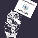 March for Science Adelaide – Platypus, white by sciencemarchau