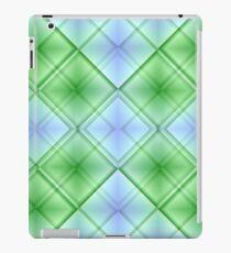 Sky & Grass Plaid iPad Case/Skin