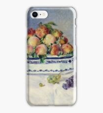 Auguste Renoir - Still Life With Peaches And Grapes, 1881 iPhone Case/Skin