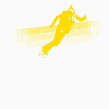 Snowboarder (yellow) by specialman