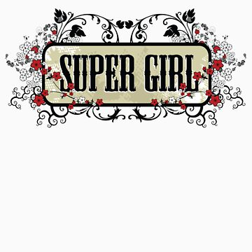 Super Girl by BOOJOO