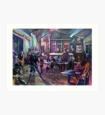 Pop Standen - Beach Break Bar Art Print