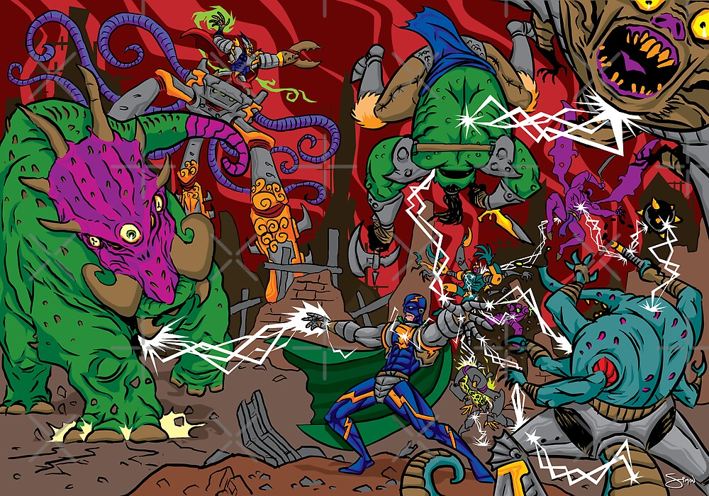 The Last Stand of Super Electric Guy! by Simon Sherry