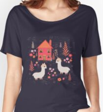 Mountain Chalet Alpacas Women's Relaxed Fit T-Shirt