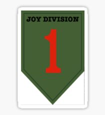 'Joy Division' Ensign Sticker