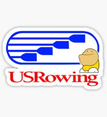 Fatov Team USA Rowing US Sticker