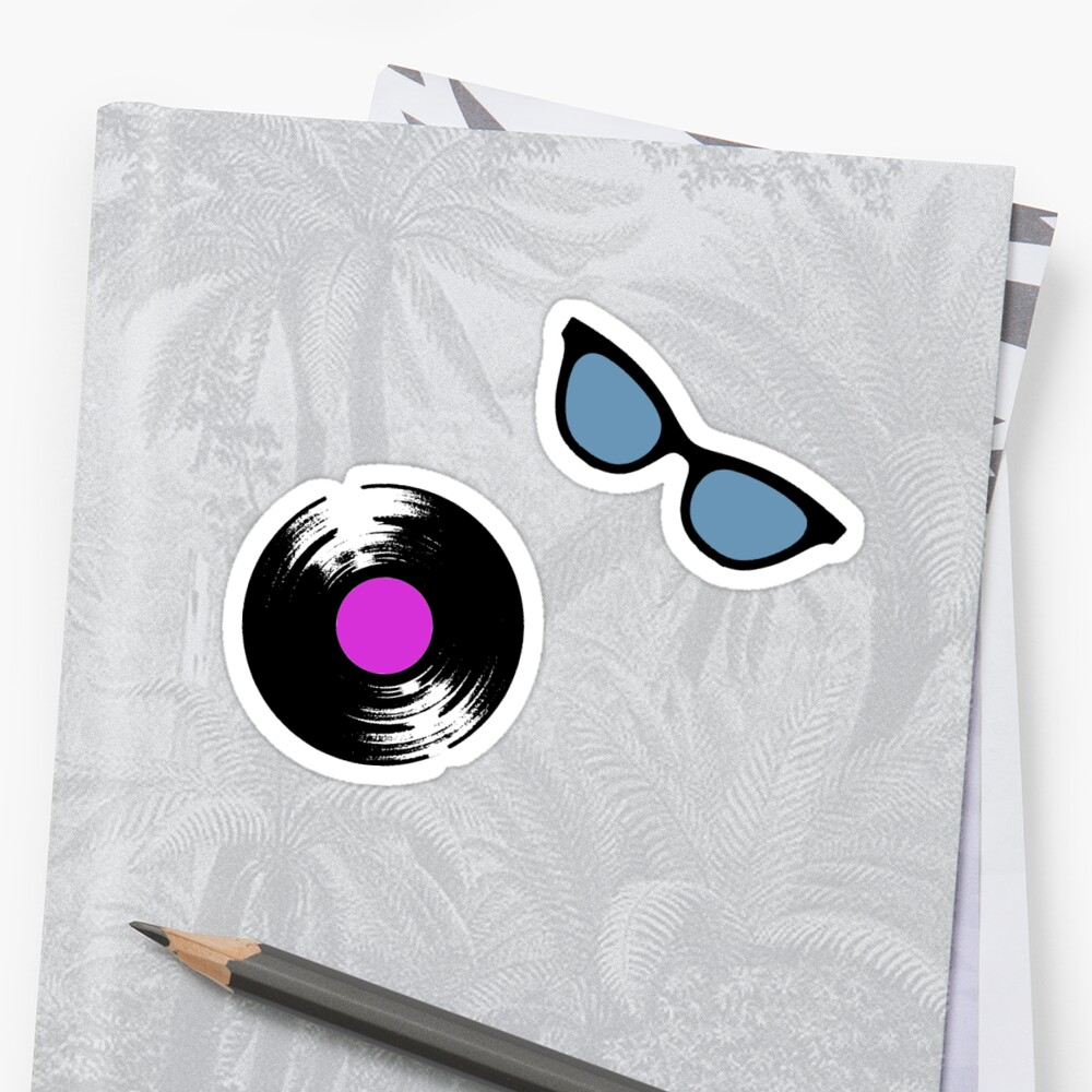 Candy Vinyl Sticker