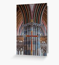 Exeter Cathedral (2) Greeting Card