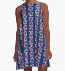 Chicago Cubs A-Line Dress