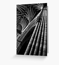 Exeter Cathedral (1) Greeting Card
