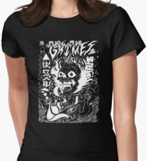 Grimes Visions Inverted Occult Womens Fitted T-Shirt