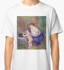 Auguste Renoir - Mother And Child, 1895 Classic T-Shirt
