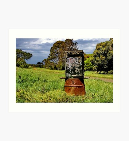 """The Letterbox"" Art Print"