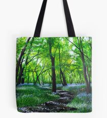 In bluebell heaven Tote Bag