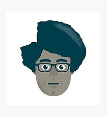 The IT crowd - Moss Photographic Print