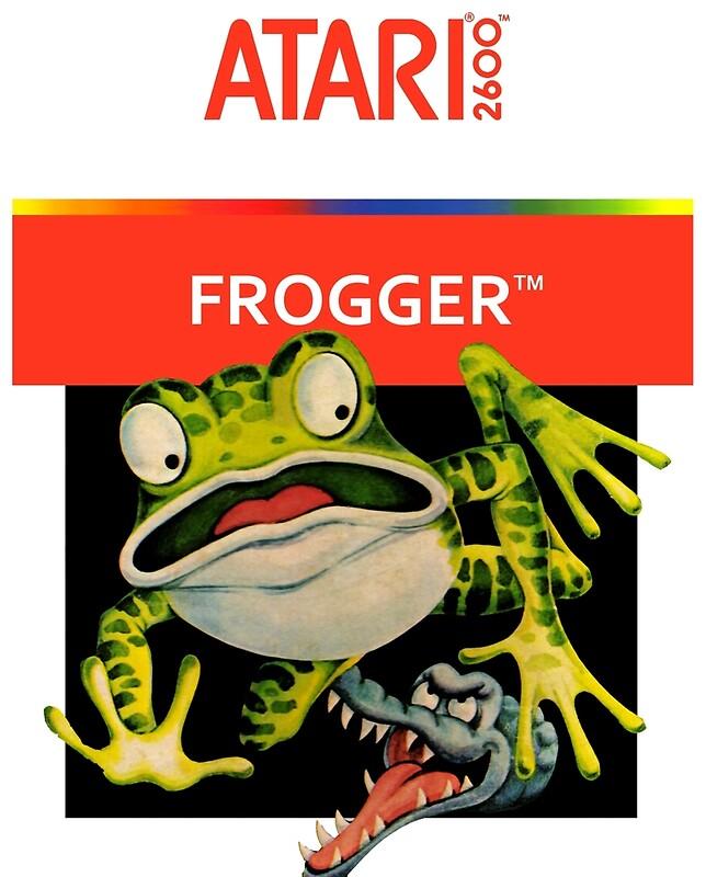 Atari 2600 Frogger Poster - 2 Sizes